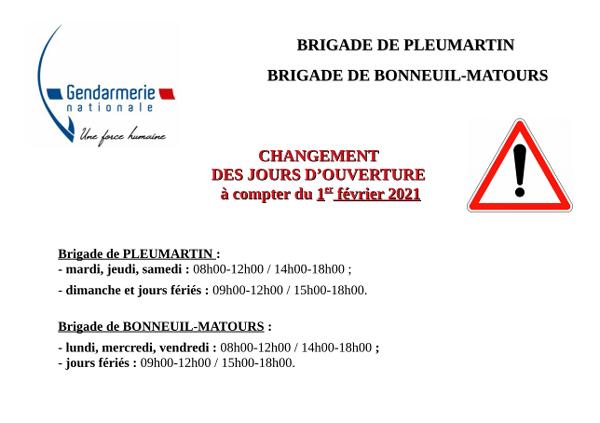 affiche-horaires-gendarmeri